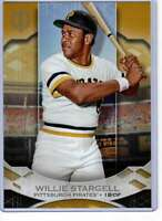 Willie Stargell 2019 Topps Tribute 5x7 Gold #60 /10 Pirates