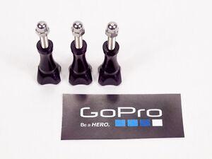 GOPRO Screws Mount Accessories Head Tripod Knob Nut Thumb HD FITS ALL GOPROS !!!