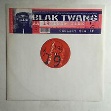 BLAK TWANG - RED LETTERS * 12 INCH VINYL * LTD EDITION MINT * FREE P&P UK *