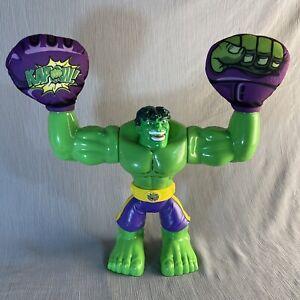 "KAPOW HULK, Hasbro Marvel Disney Talking 10"" Toy figure 2013."