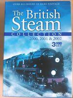British Steam Collection [ 3 DVD Box Set ] Region 4, FREE Next Day Post from NSW