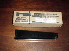 Presto Black Body Handle No.37212 For Aluminum & Stainless Steel Cookers NEW