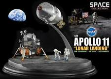Diorama Apollo 11 Atterrissage sur la Lune CSM Columbia LEM Eagle Dragon 1/72