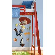 "Disney TOY STORY JESSIE wall stickers 46"" MURAL room party decor cowgirl"
