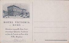 # ROMA: HOTEL VICTORIA- Parioli