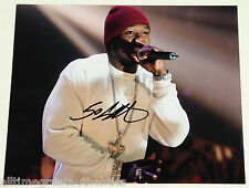 RAPPER 50 CENT SIGNED 11X14 PHOTO W/COA CURTIS JACKSON GET RICH OR DIE TRYIN'