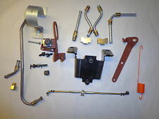 70-74 Mopar B E Body Cuda 340 Six Pack Installation Kit w/Throttle Cable & Choke