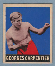 1948 LEAF BOXING #67 GEORGES CARPENTIER NO CREASES & CLEAN VINTAGE RARE
