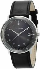 Junghans Men's Max Bill Quartz Watch - 041/4462.00 NEW