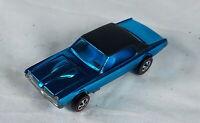 Restored Hot Wheels Redline - 1968 - Custom Cougar - Lt Blue