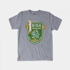 "Dethrone The ""Irish"" Invasion T-Shirt S Size"