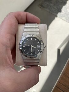 OMEGA  Constellation Perpetual Calendar Black Dial 36mm Excellent Condition