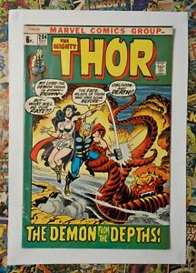 THOR #204 - OCT 1972 - MEPHISTO APPEARANCE! - FN- (5.5) PENCE COPY!!