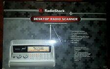 NEW RadioShack® PRO-405 200-Channel Desktop Radio Scanner