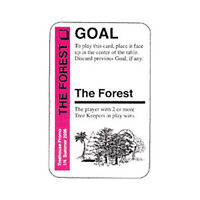 Fluxx GOAL Promo Card - The Forest - *NEW*