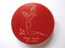Vintage Powder Box Helen English First Love Face Powder Sealed Pixie Detail