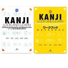 Kanji Look And Learn Textbook Workbook Set Learn Japanese Genki test