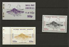 GB 1971 Postal strike, Outer Island Agents St Michaels Mount.(see description)