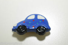 VW VOLKSWAGEN BEETLE KAFER BLUE EXCELLENT CONDITION PIN BADGE.