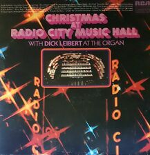 Christmas At Radio City Music Hall Dick Leibert RCA Two LP 33 rpm vinyl record