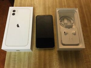 Apple iPhone 11 64GB T-Mobile White Used For Parts Only
