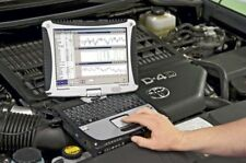 Valise de Diagnostique Auto + Pc Panasonic Toughbook CF-19 Windows 7 diagnostic