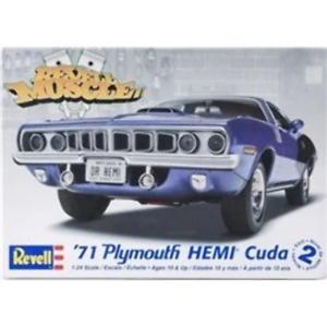 Revell 1/24 1971 Plymouth Hemi Cuda 426