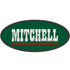 Angelsport Fan Aufnäher Mitchell ca 11,5 x 5,5 cm