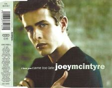 JOEY MCINTYRE - I Love you came too late (NEW 4trk CD single)