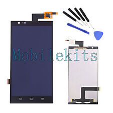 For ZTE ZMAX Z970 LCD Touch Screen Digitizer Assembly Replacement Black + Tools
