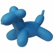 """CHARMING PET LATEX MINI 4"""" BALLOON BLUE SQUEAKER DOG TOY. FREE SHIP IN THE USA"""