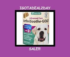 NaturVet ArthriSoothe GOLD Dog aches Joint Pain  Lvl 3 Soft Chews 180