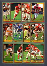 1999 Topps Football Kansas City Chiefs TEAM SET - MINT