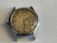 Vintage 1950s Mens Omega automatic seamaster stainless running swiss as found!
