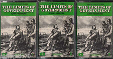 LIMITS Of GOVERNMENT Passmore - 3 Cassettes Audio 1981 Boyer Lectures  SirH70