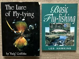 The Lure of Fly-Tying Hardcover Fadg Griffiths  Basic Fly-Fishing Les Hawkins