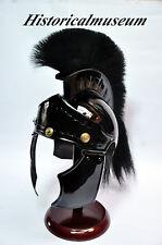 New Replica Greek Greco Spartan Achilles Armor Helmet with Horse Hair Plume