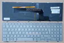For Dell Inspiron 15 7000 7537 keyboard Backlit Nordic Danish Norwegian Swedish