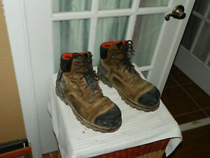 """Timberland PRO Men's Boondock 6"""" Comp Toe Work Boots 92615 Brown Size 11 M"""