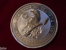 Australia. 1995 2oz - Silver Kookaburra. Royal Visit Florin Privy Mark. BU #1356