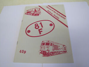 Vintage Journal of the Oxfordshire Railway Society