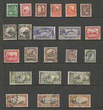 NUOVA Zelanda SG577-590 Set di 1936-42 GVI Inc più perforazioni GATTO £ 109+