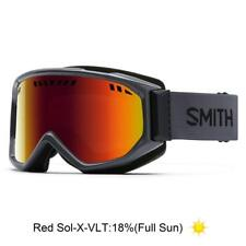 Smith Optics Scope Goggles (Red Sol-X Mirror / Charcoal / One Size)