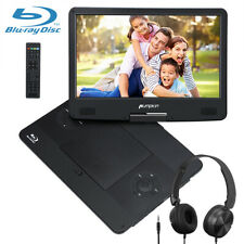 "14"" Full HD Portable Blu-ray DVD Player 1080P Video HDMI Region Free w/Headphone"
