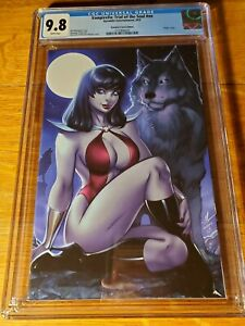 CGC 9.8 Vampirella Trial of the Soul One Shot Exclusive Garza Virgin #/600 COA
