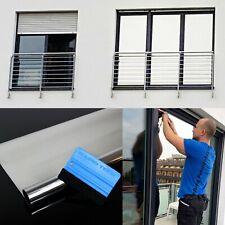 5,49€/m² Pellicola a Specchio per Finestra Vetro Dischi Spia autoadesiva