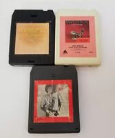 Barry Manilow 8 Track Tapes Set of 3 Tryin To Get The Feeling, Barry, Magic