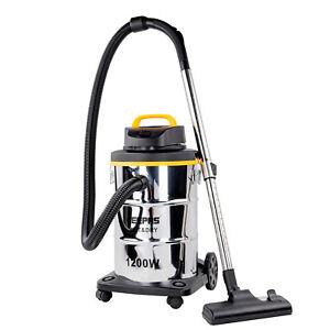 Geepas Wet & Dry Vacuum Cleaner Water Powerful Vac Workshop Home 23L 1200W