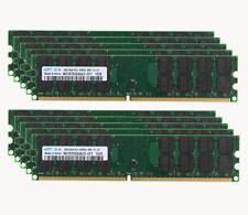 LOT For Samsung 4GB DDR2 PC2-6400U 800MHz 240PIN DIMM Desktop memory for AMD CPU