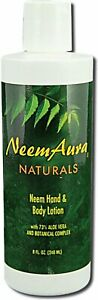 Hand And Body Lotion With Aloe Vera by Neem Aura, 8 oz